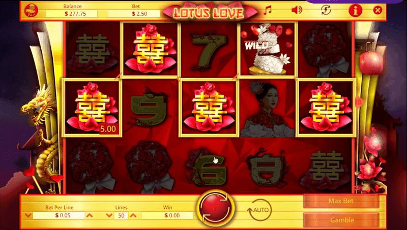 lotus love pokies game