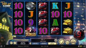 take the bank pokies game