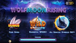 wolf moon rising symbols