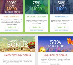 loki casino bonus codes
