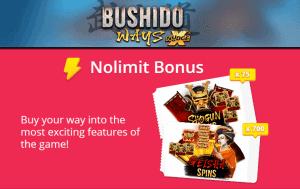 bushido ways bonus buy