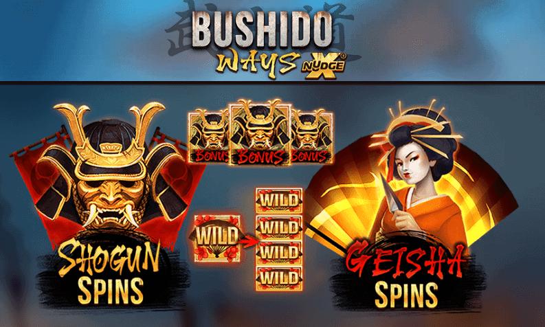 bushido ways free spins