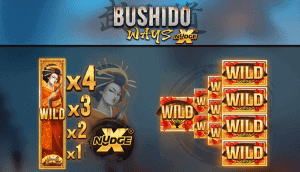 bushido ways rtp