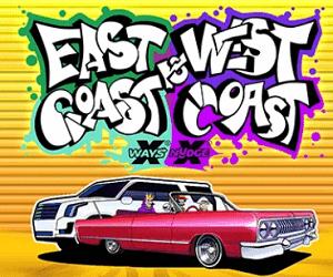no limit slots east coast west coast