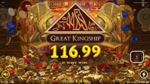 tomb of akhenaten pokies win