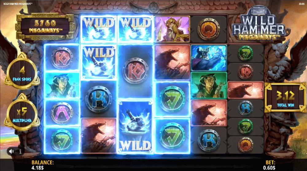 wild hammer bonus buy